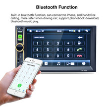 1 PC 6.6 Inch Touchscreen In Dash Car 1080P Stereo Radio Mp5 Player Aux Multimedia Player Host Car Electronic(China)