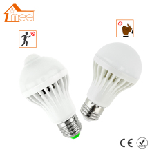 LED PIR Motion Sensor Bulb 5W 7W 9W 12W E27 220V + Led Bulb Sound Sensor 3W 5W 7W Auto Smart Bulb Infrared Body Lamp Light