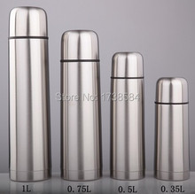 Stainless steel double wall vacuum keep-warm glass vacuum flask thermos bullet cup water switch bottle with filter lid