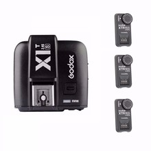 EACHSHOT TTL X1T-S + 3 x XTR-16S 2.4G Wireless Studio Flash Trigger or Speedlite For Sony Godox V850 V860N V860C