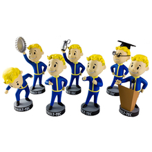 7PCS Fallout 4 Complete Set Of Series 2 Vault Boy 111 Bobbleheads Figure