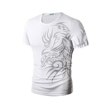 men's t-shirts brand new fashion print ali t-shirt 10 color short sleeve o-neck t shirt Casual men's shirt tops tees BBTX70-JF