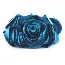 Best Brand Gift 2016 Fashion Evening Bag Women Flower Bride Clutch Purse Dress Party handbag Wedding Clutch Ladies Bags XA766B