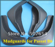 Free shipping!High quality pp material 4pcs Car Mudguards,auto mud guards,fender for Volkswagen Passat B6,Magotan 2005-2010