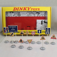 Dinky Toys 593 Atlas 1:43 scale 12 PANNEAUX DE SIGNALISATION ROUTIERE Metal Car Models Diecast vehicle Toys Collect Or Gift toys