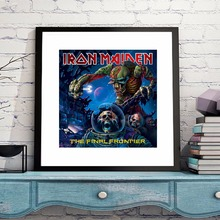 Iron Maiden The Final Frontier Canvas Art Print Poster Wall Pictures For Living Room Home Decoration Home Decor No Frame