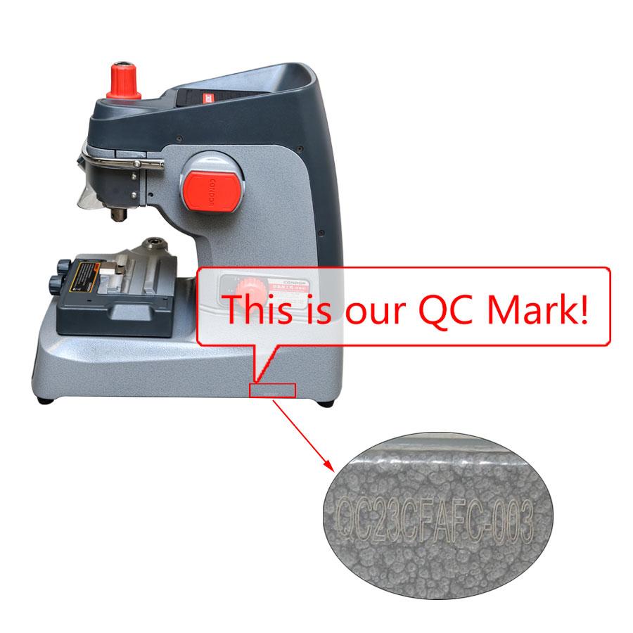 New Released Original Xhorse Condor XC-002 Ikeycutter Mechanical Key Cutting Machine Three Years Warranty (2)