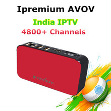 Ipremium AVOV America IPTV Free Eternally Set Top Box with Best India Indian South Asia IPTV 4800+ Channels & Vod Smart TV Box