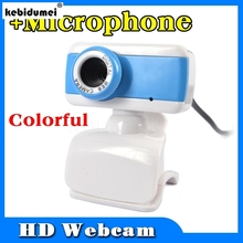 high definition Digital USB 5.0 MegaPixel Webcam Stylish Rotate Camera HD Web Cam Mic Microphone for PC Laptop Notebook Computer(China)