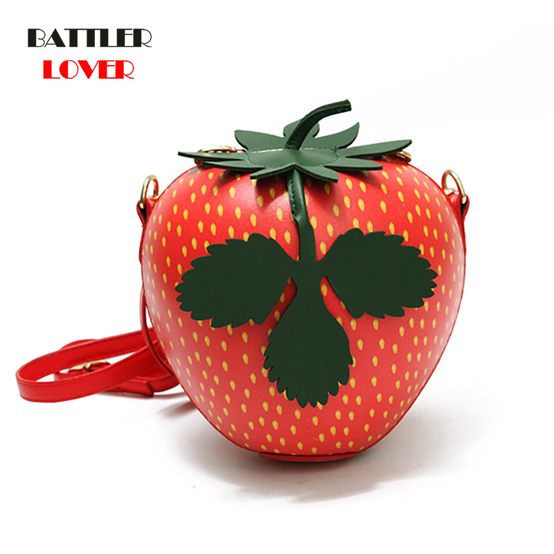 Strawberry Watermelon Apple Fruit Bags for Women 2019 Bag Women Handbag Bolsa Feminina Shoulder Luxury Handbags Women Bag Design