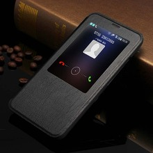 Genuine Leather Cases for MEIZU MX5 Case Call Display for MEIZU MX 5 Cover Real Cow Hide Shell MX5 Phone Protector Flip Case Cap