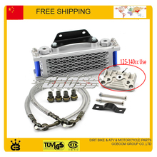 kayo bse taotao Dirt Monkey pit bike ATV Motorcycle Oil cooler radiator cooling parts 110cc 125cc 140cc 150cc 160CC accessories