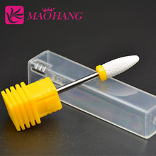 MAOHANG Super Mill Ceramic Nail Drill Bits For Electric Manicure Machines Pedicure Nail Art Salon Polish Tools