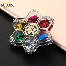 KISSCASE Finger Spinner Stickers Phone Stand For iPhone 6 6S 7 Plus Samsung S8 S7 S6 Holder Multi Color Decompression Hand Gyro