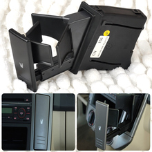 beler Car Cup Holder Right Center Console Water Drink 6Q0 858 602 G for VW Polo 9N 2002 2003 2004 2005 2006 2007 2008 2009 2010(China)
