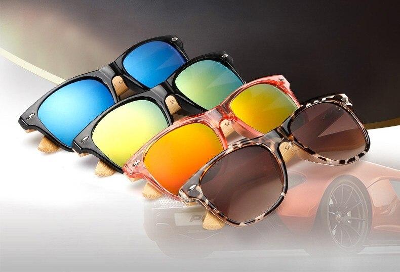 Ralferty Retro Wood Sunglasses Men Bamboo Sunglass Women Brand Design Sport Goggles Gold Mirror Sun Glasses Shades lunette oculo 1