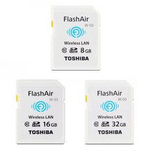 Original TOSHIBA SD Card Real Capacity 8GB 16GB 32GB CLASS10 Memory Card for camera WIFI SD download photo video to phone etc