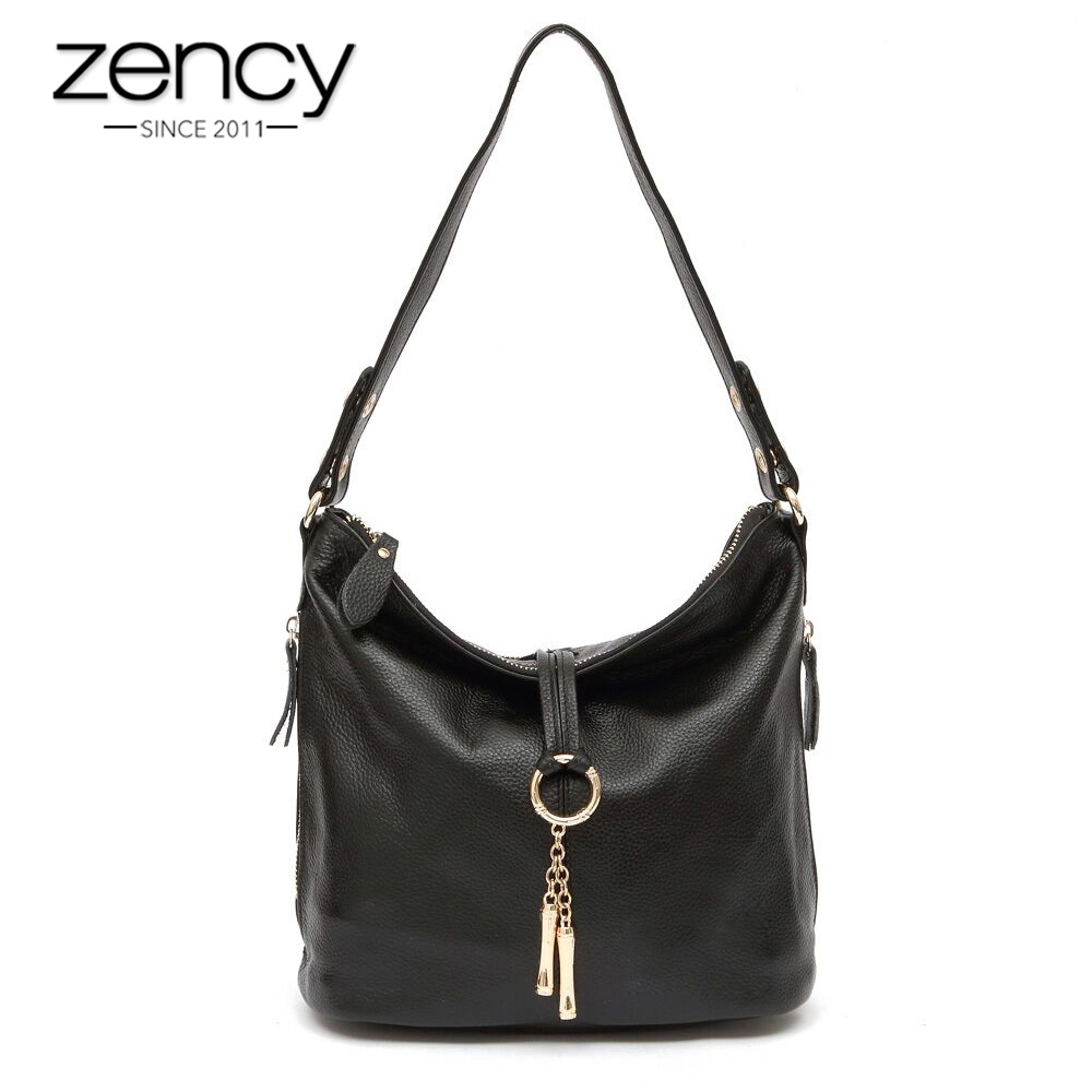2018 New Fashion Designer Metal Tassel 100% Real Genuine Leather Women Small Shoulder Tote Handbag Ladies Crossbody Bag Purse<br>