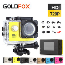 GoldFox SJ 4000 Outdoor Sport Action Camera 720P HD Mini Cam Go Waterproof Pro Bike Car Dvr Recorder With Retail Box