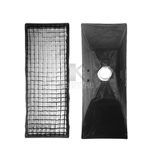 "2pcs/lot Godox 50*130cm/20*51"" 35*160cm /14*63"" Bowens Honeycomb Grid Softbox 50x130cm / 35x160cm for Photo Studio Flash Strobe"