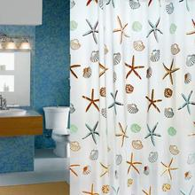 6 styles Waterproof Bathroom Curtain Shower Curtain Polyester Fabric.180x200cm High quality
