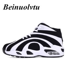 Beinuolvtu 2017 New Designs Basketball shoes for men Sport shoes high-top sneakers Air Cushion Basketball boots men