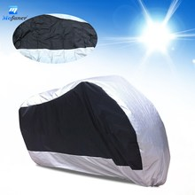 Mofaner 180T Waterproof Motorcycle Cover UV Protective Scooter Rain Breathable Street Bike Motor Dustproof Covers(China)