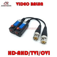 2017 Newest  HD CVI/TVI/AHD Passive Transceiver CCTV Video Balun Adapter Transmitter BNC to UTP 720P 1080P