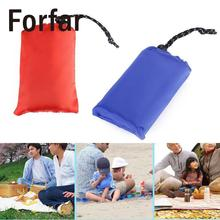 150*150cm Portable ultra-thin folding pocket blanket camping Waterproof blanket outdoor Camping travel fishing beach sand mat