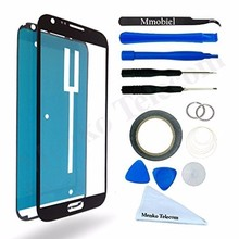 For Samsung Galaxy Note 2 Black White Display Touchscreen Replacement kit 12 pieces incl tools / pre cut Sticker MMOBIEL(China)