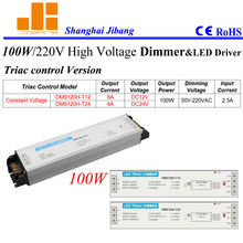 Free Shipping  110V&220VAC Triac pwm dimmer, Triac dimming driver, 100W 1 channel  pn:DM9120H-T series