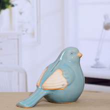 1 Piece Creative Ceramic Crafts Bird Shape Bank Money Box Storage Coins Gift For Friend/Kids/  Home Decoration Kids Saving Money