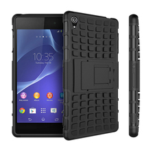 Buy Sony Xperia Z3 Case D6603 D6643 D6653 Z3 Heavy Duty Armor Shockproof Hybrid Hard Rugged Rubber Phone Cover Sony Z3 <* for $2.56 in AliExpress store