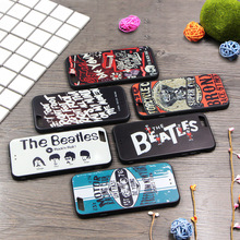 Graffiti Retro camera tape Consoles Calculator Keyboard pattern Printed Back Cover coque Case for iphone 7/ 6S Plus 4.7 5.5