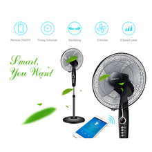 Sonoff Oscillating Stand IFan Smart Wifi Fan Whisper quiet Timing Schedules Remote Control by Android and iOS eWeLink
