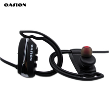 OASION sport bluetooth earphone waterproof earbuds stereo bluetooth headset bass wireless headphones with mic for a mobile phone(China)