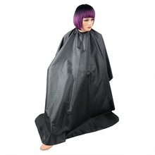 Professional Polyester Hairdressing Gown Salon Hair Cutting Cape Hairdresser Apron Waterproof Wraps Beauty Hair Styling Tools(China)