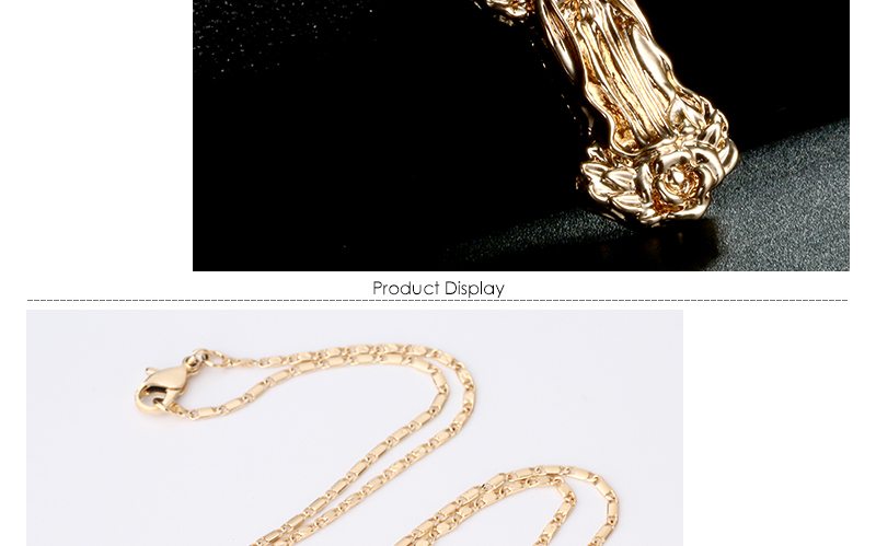 AYAYOO Jesus Virgin Mary Goddess Necklace & Pendant Women Christmas Gifts Wholesale Gold Color Catholic Christian Jewelry (3)