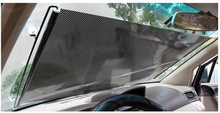 1pcs Window Roller Blind Car Sun shade Curtain Sunscreen Roller Blinds Front Rear Side Window Film Car Accessories