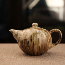 Jingdezhen Handmade Porcelain Craft One Piece Tieguanyin Teapot Limited Edition Pigmented Tea Pot Chinese Great Master Works
