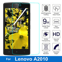 Buy Lenovo A2010 Screen Protector Original Anti-shock 9H Tempered Glass Safety Protective Film 2010 A2580 A2860 for $1.15 in AliExpress store