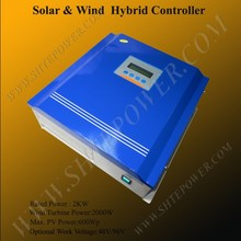 Off grid 2kw 96v wind solar hybrid controller for 2000w wind turbine and 600w solar panel