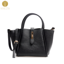 PU LEATHER CASUAL LOCK TOTE BAG - Women's Ladies' Elegant Formal Work OL Large Top Handle Shopping Shoulder Bag Handbag Bolsa