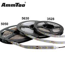 5M Led Strip Light 5630 ( 5730 ) 3528 5050 SMD RGB Led String Ribbon Tape Roll Non-waterproof DC 12V Flexible Led Strip Lamp