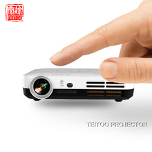 3500 Lumens 1280x800 Native DVD Cell Phone Kids Mobile Cinema Movie Film Enlarged Image Data Show Darkness Outdoor Projector