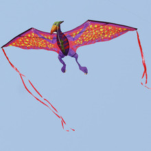 New arrival Creative Super Dragon Kite Stereo Red Winged Dragon With 3m long Tails Flying kites Outdoor sports Toy Children Gift(China)