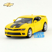 Free Shipping/1:38 Scale/2014 Chevrolet Camaro/Classical Educational Model/Pull back Diecast Metal toy car/Collection