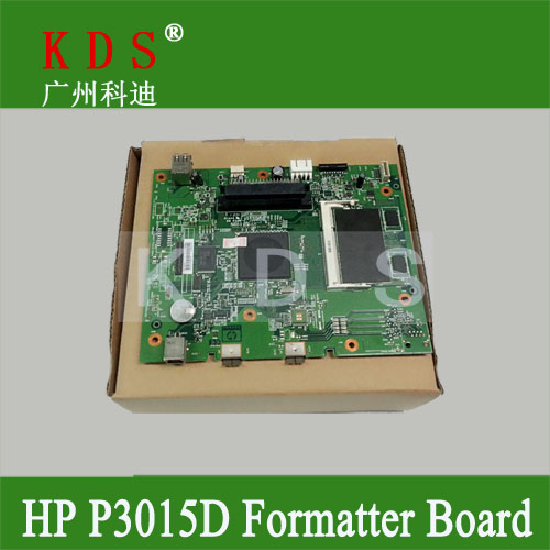 Original Printer Parts Formatter Board for HP P3015D PBA-MAIN Mother Board CE474-60001 Logic Card remove from new machine<br><br>Aliexpress