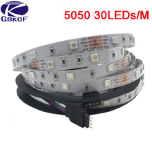 SMD RGB LED Strip light 5m DC 12V 5050 3528 2835 60leds/m 30leds/m led light led tape diode ribbon waterproof 5m/roll strip