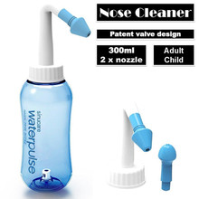 1 pcs 300ML Nose Wash System Nose Cleaner Sinus Allergies Nasal Pressure Neti Pot Nasal Wash Cleaning Tool For Adults Children